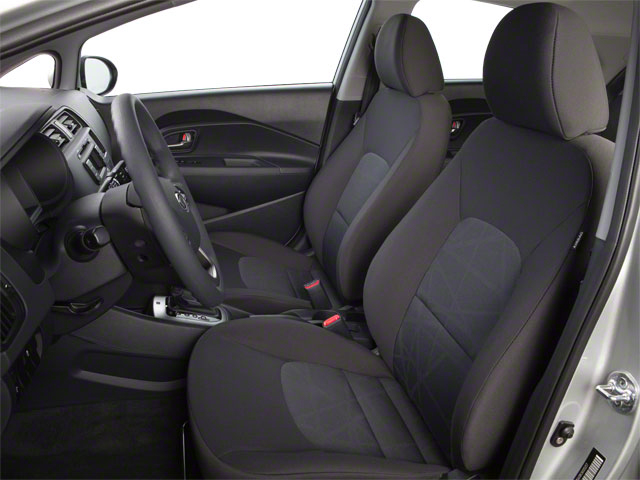 2012 Kia Rio Prices and Values Hatchback 5D SX front seat interior