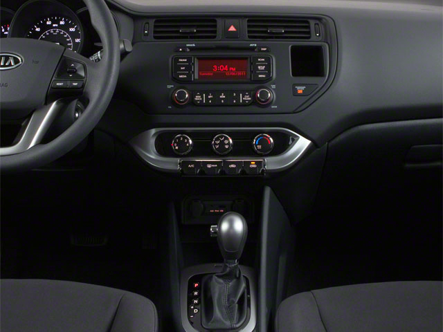 2012 Kia Rio Prices and Values Hatchback 5D SX center console
