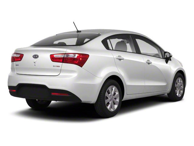 2012 Kia Rio Pictures Rio Sedan 4D LX photos side rear view