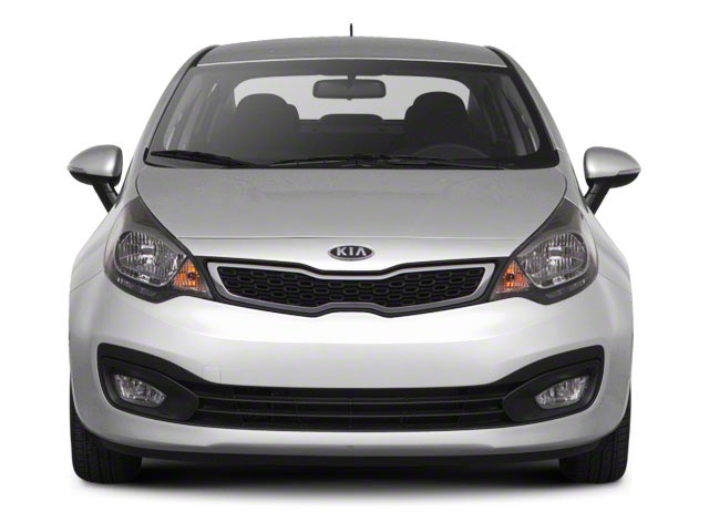 2012 Kia Rio Pictures Rio Sedan 4D LX photos front view