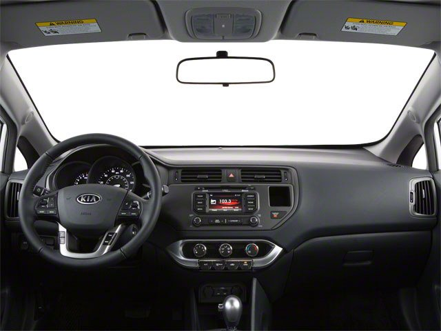 2012 Kia Rio Pictures Rio Sedan 4D LX photos full dashboard