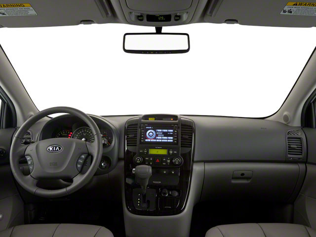 2012 Kia Sedona Prices and Values Wagon LX full dashboard