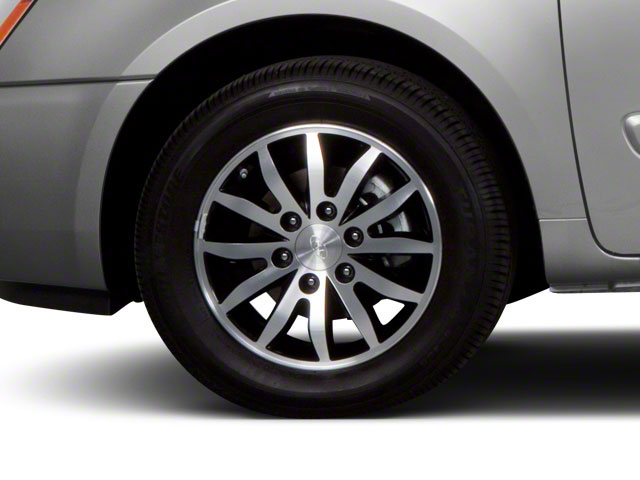 2012 Kia Sedona Prices and Values Wagon LX wheel