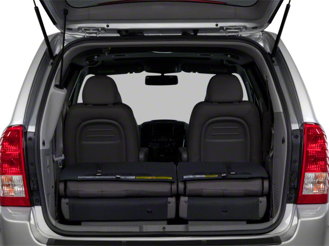 2012 Kia Sedona Prices and Values Wagon LX open trunk
