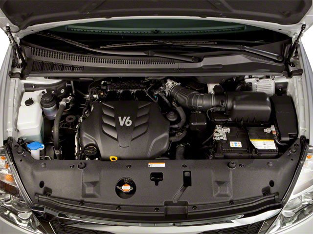 2012 Kia Sedona Prices and Values Wagon LX engine