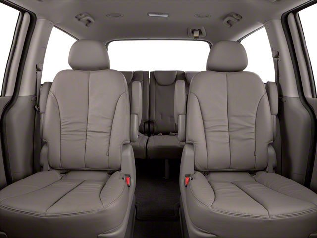 2012 Kia Sedona Prices and Values Wagon LX backseat interior