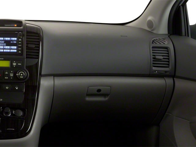 2012 Kia Sedona Prices and Values Wagon LX passenger's dashboard