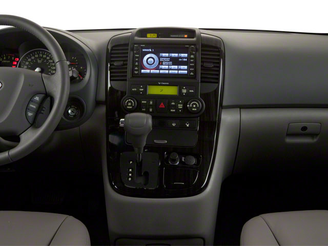 2012 Kia Sedona Prices and Values Wagon LX center dashboard