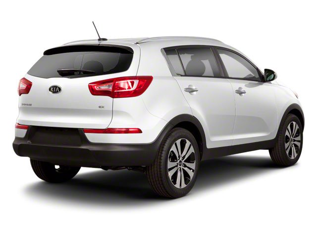 2012 Kia Sportage Prices and Values Utility 4D LX AWD side rear view