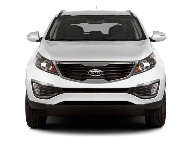 2012 Kia Sportage Prices and Values Utility 4D LX AWD front view
