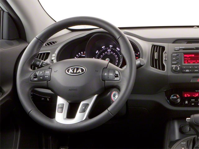 2012 Kia Sportage Prices and Values Utility 4D LX AWD driver's dashboard