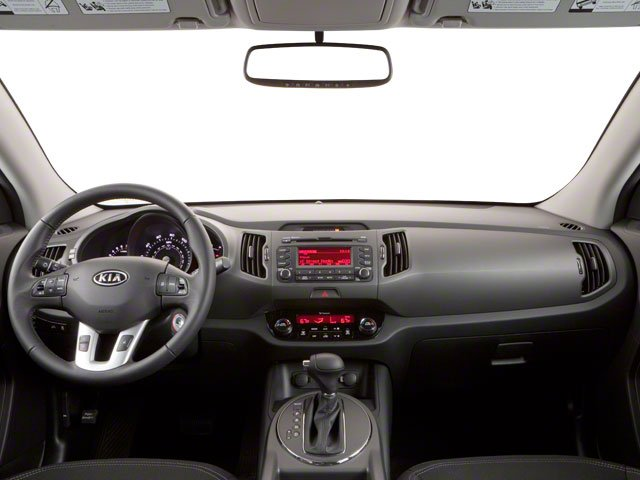 2012 Kia Sportage Prices and Values Utility 4D LX AWD full dashboard