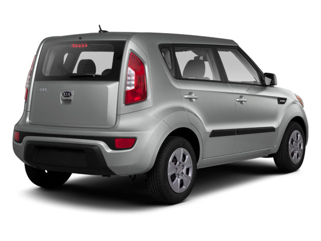 2012 Kia Soul Prices and Values Wagon 4D ! side rear view