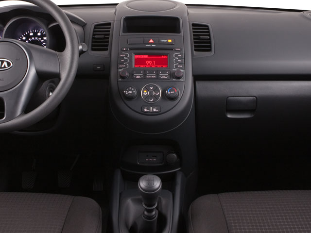 2012 Kia Soul Prices and Values Wagon 4D ! center console