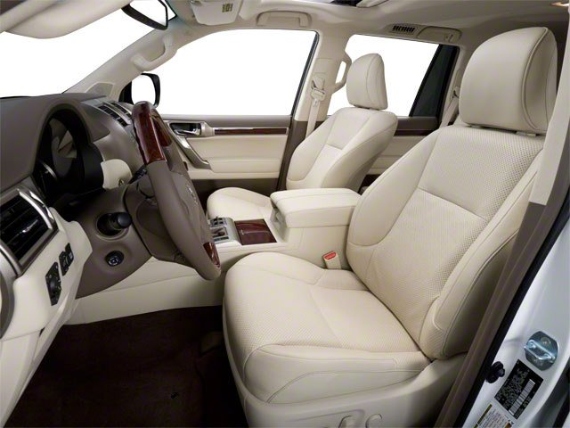 2012 Lexus GX 460 Prices and Values Utility 4D 4WD front seat interior