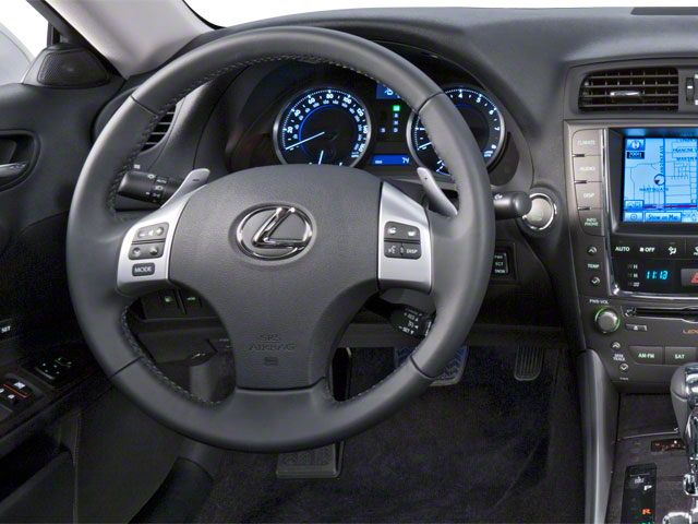 2012 Lexus IS 350 Prices and Values Sedan 4D IS350 AWD driver's dashboard