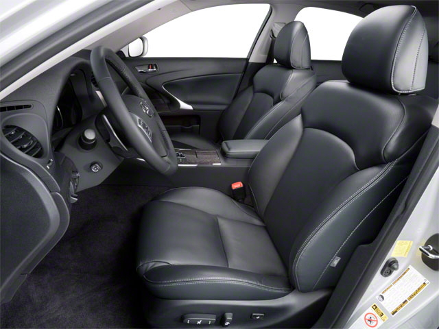2012 Lexus IS 350 Prices and Values Sedan 4D IS350 AWD front seat interior