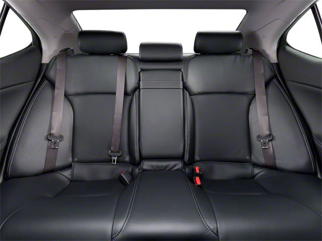 2012 Lexus IS 350 Prices and Values Sedan 4D IS350 AWD backseat interior