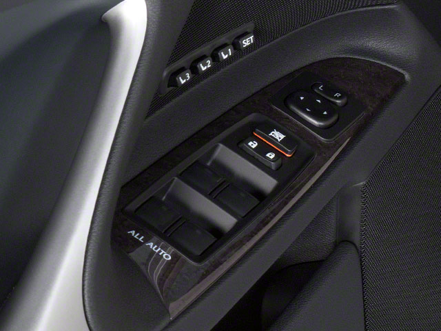 2012 Lexus IS 350 Prices and Values Sedan 4D IS350 AWD driver's side interior controls