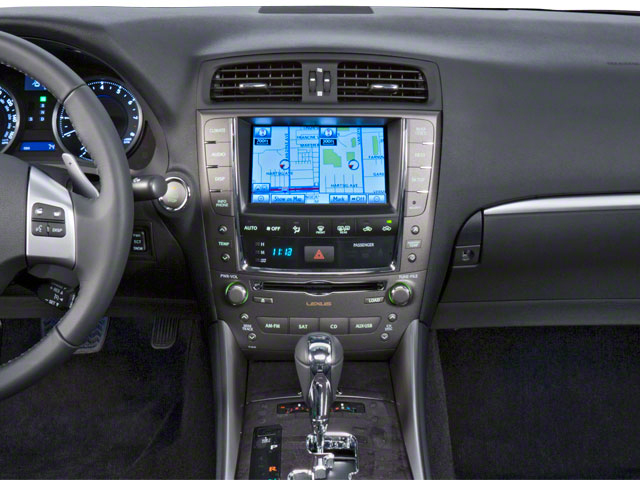 2012 Lexus IS 350 Prices and Values Sedan 4D IS350 AWD center dashboard
