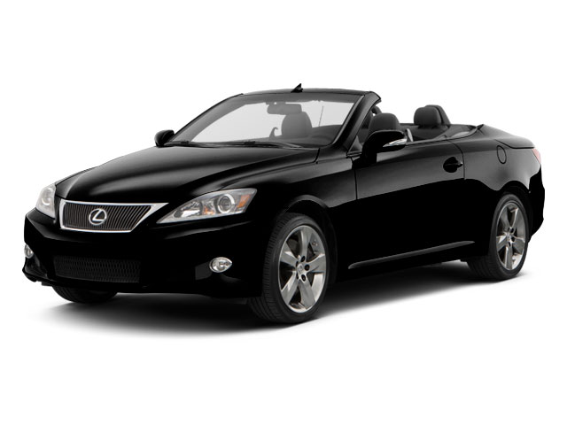 2012 Lexus IS 350C Prices and Values Convertible 2D IS350 side front view