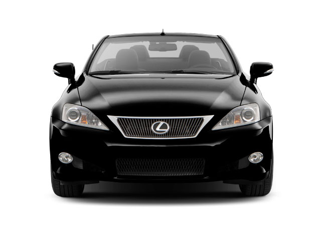 2012 Lexus IS 350C Prices and Values Convertible 2D IS350 front view