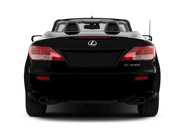 2012 Lexus IS 350C Prices and Values Convertible 2D IS350 rear view
