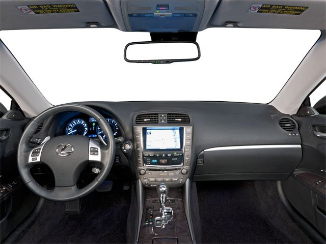 2012 Lexus IS 350C Prices and Values Convertible 2D IS350 full dashboard