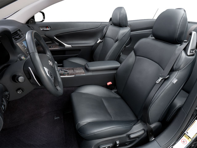 2012 Lexus IS 350C Prices and Values Convertible 2D IS350 front seat interior