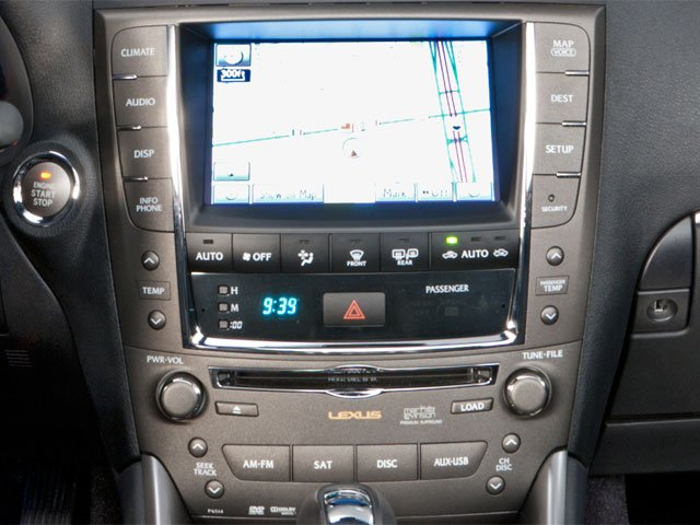 2012 Lexus IS 350C Prices and Values Convertible 2D IS350 stereo system