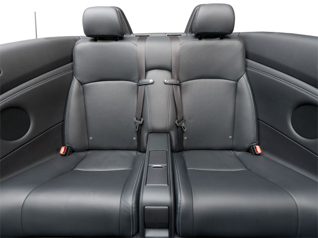2012 Lexus IS 350C Prices and Values Convertible 2D IS350 backseat interior