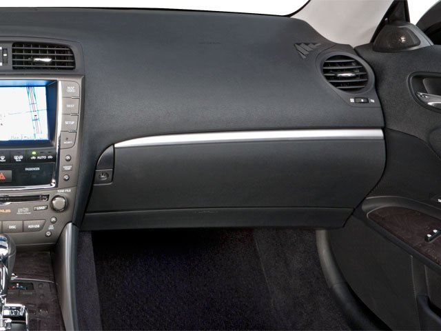 2012 Lexus IS 350C Prices and Values Convertible 2D IS350 passenger's dashboard