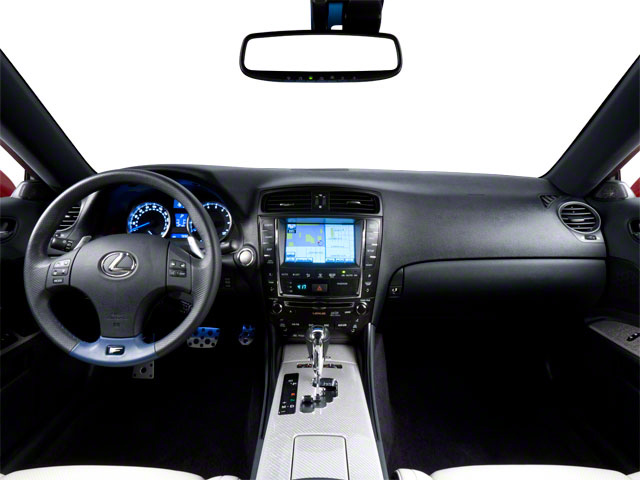 2012 Lexus IS F Prices and Values Sedan 4D IS-F full dashboard