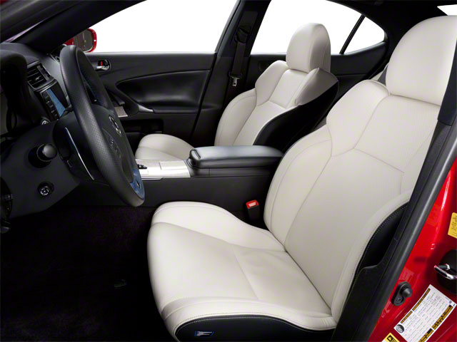 2012 Lexus IS F Prices and Values Sedan 4D IS-F front seat interior