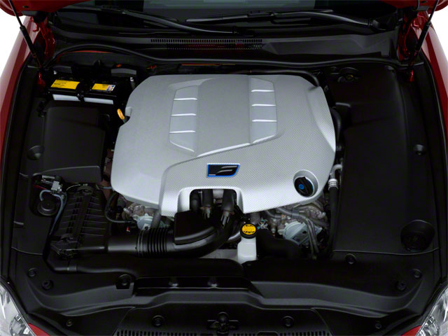 2012 Lexus IS F Pictures IS F Sedan 4D IS-F photos engine