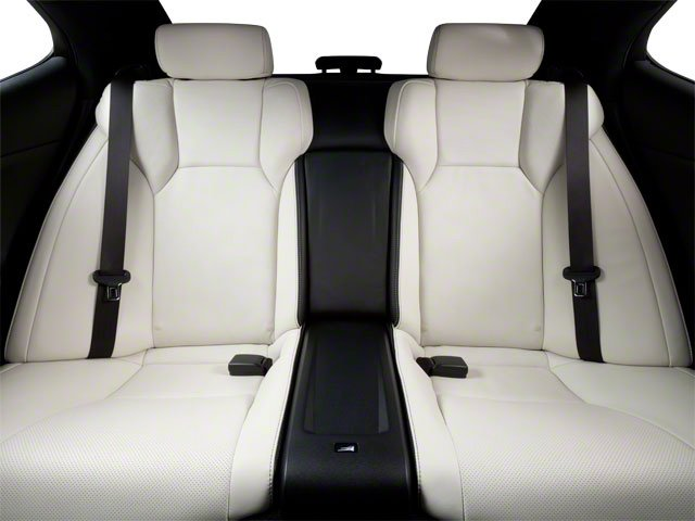 2012 Lexus IS F Prices and Values Sedan 4D IS-F backseat interior