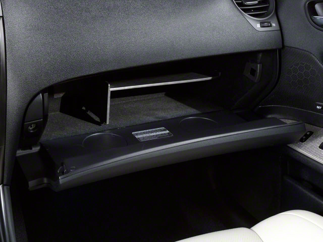 2012 Lexus IS F Prices and Values Sedan 4D IS-F glove box