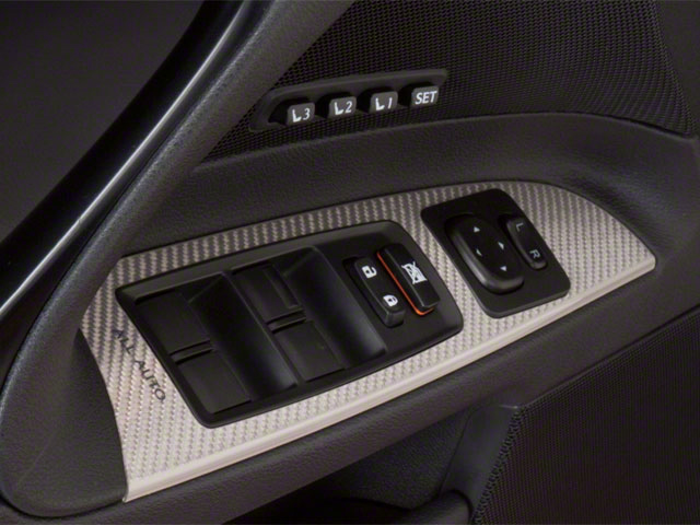 2012 Lexus IS F Prices and Values Sedan 4D IS-F driver's side interior controls