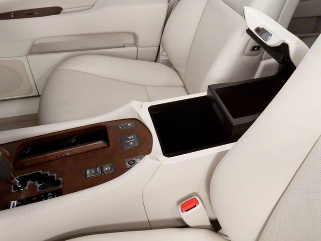 2012 Lexus LS 460 Pictures LS 460 Sedan 4D LS460L photos center storage console