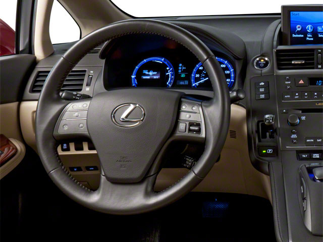 2012 Lexus HS 250h Prices and Values Sedan 4D HS250h driver's dashboard