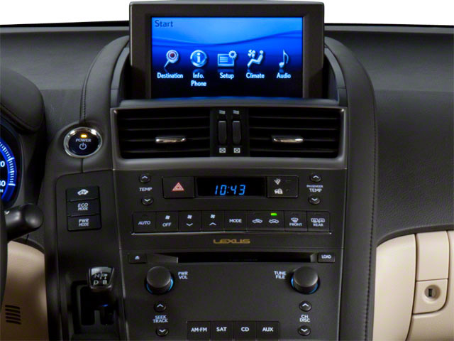 2012 Lexus HS 250h Prices and Values Sedan 4D HS250h stereo system
