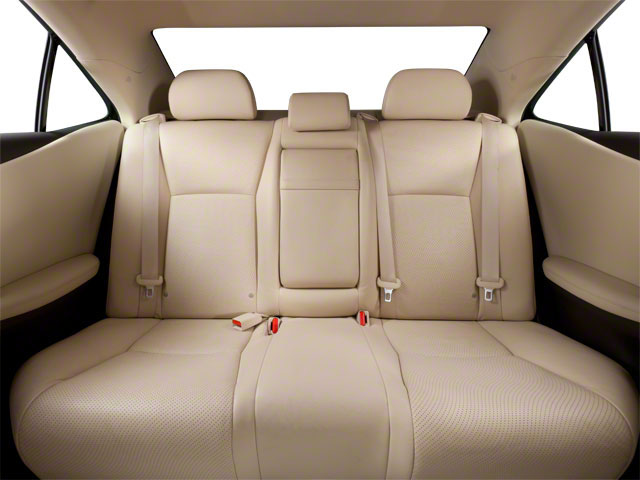 2012 Lexus HS 250h Prices and Values Sedan 4D HS250h backseat interior