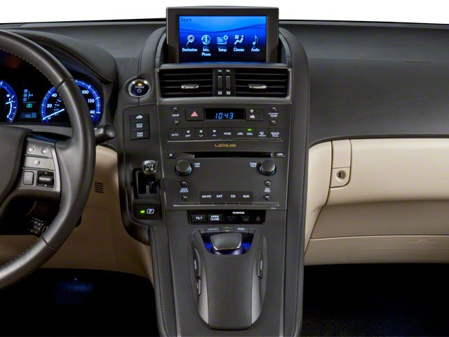 2012 Lexus HS 250h Prices and Values Sedan 4D HS250h center dashboard