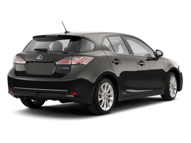 2012 Lexus CT 200h Prices and Values Hatchback 5D CT200h side rear view