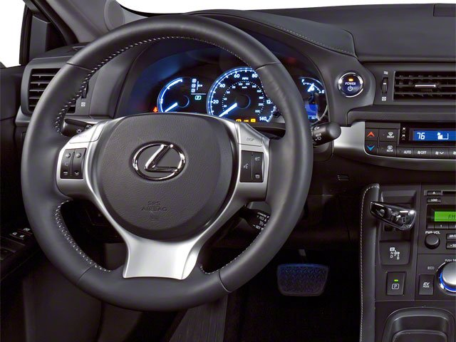 2012 Lexus CT 200h Prices and Values Hatchback 5D CT200h driver's dashboard
