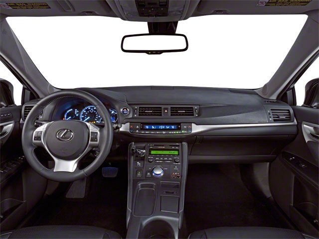 2012 Lexus CT 200h Prices and Values Hatchback 5D CT200h full dashboard