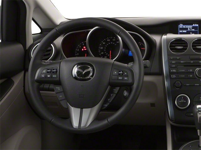 2012 Mazda CX-7 Pictures CX-7 Wagon 4D s Touring AWD photos driver's dashboard