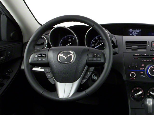 2012 Mazda Mazda3 Prices and Values Wagon 5D i Touring SkyActiv driver's dashboard
