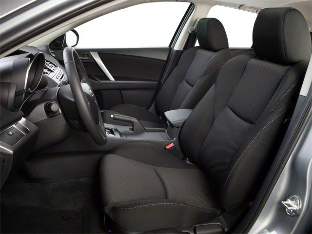 2012 Mazda Mazda3 Prices and Values Wagon 5D i Touring SkyActiv front seat interior
