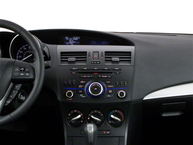 2012 Mazda Mazda3 Prices and Values Wagon 5D i Touring SkyActiv center dashboard